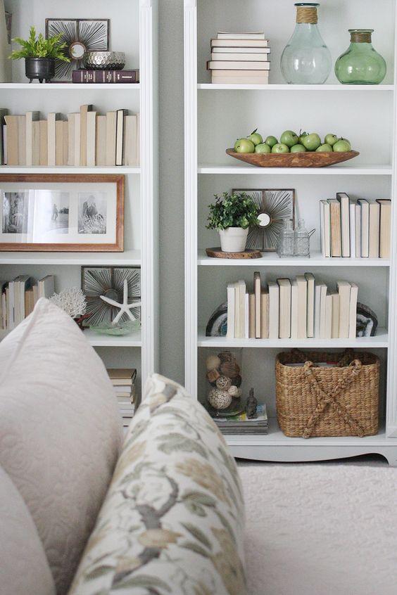styling a bookshelf