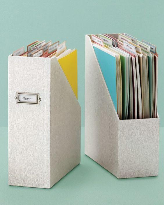 organise school papers