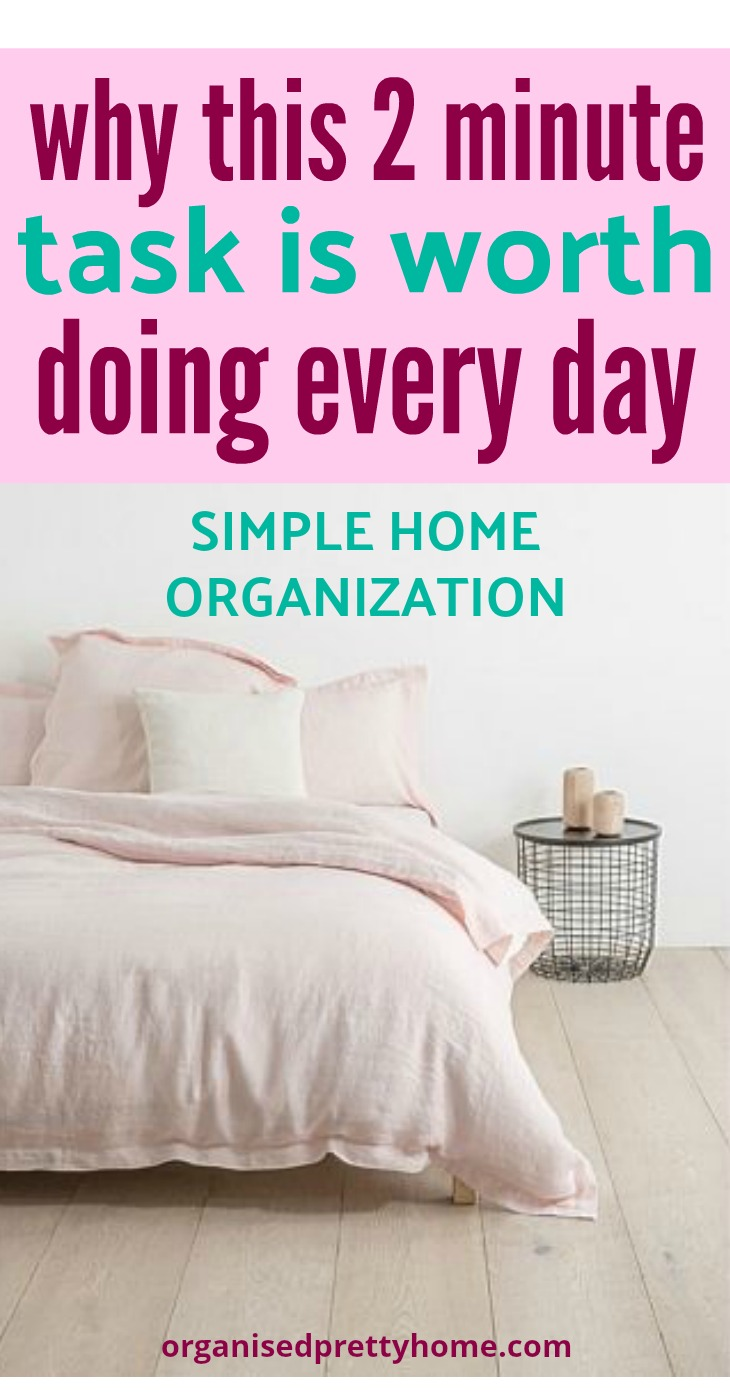 successful home organisation