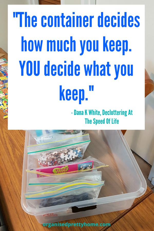 When you feel overwhelmed or frustrated with your home I recommend reading Decluttering At The Speed of Life book. Learn how to get rid clutter out of your house. Room by room tips & ideas to declutter your bedroom, kitchen, living rooms, toys etc. Better than Life Changing Magic. - Organised Pretty Home #decluttering #declutter #clutter #homeorganization #clutterfree #konmari #mariekondo #lifechanging