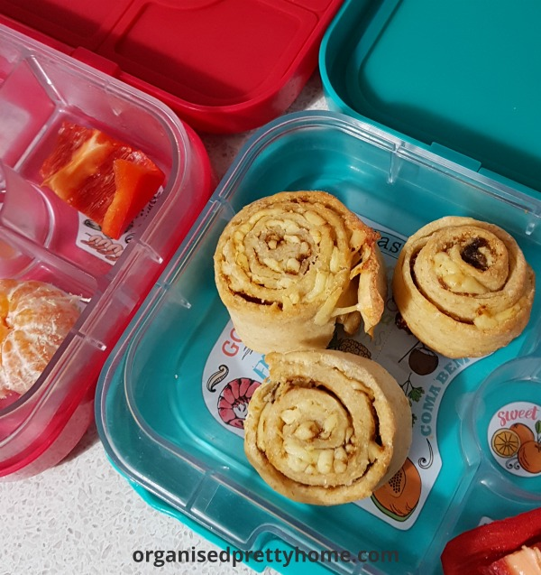 easy vegemite scrolls recipe for the kids lunch boxes for school