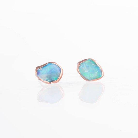gift for sister in law - opal earrings