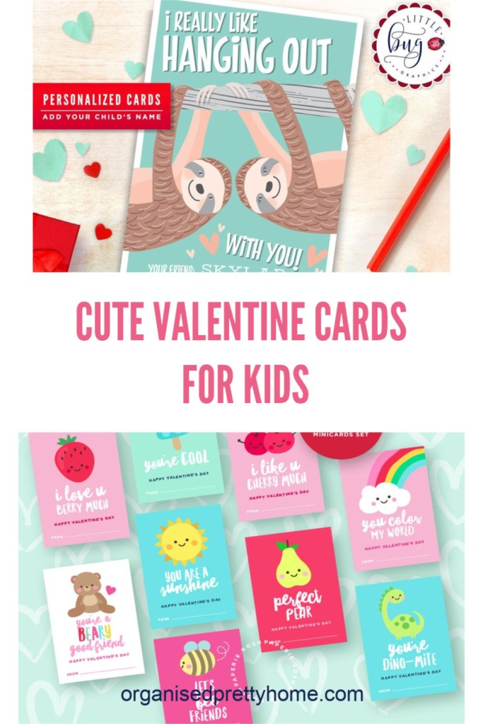 Printable Valentine cards for kids. Cute and funny Valentine gift ideas for kids.  Great for boys and girls, for school.