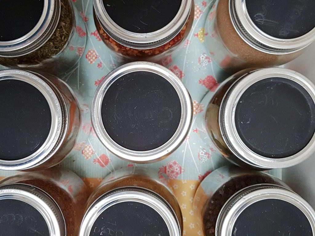 clean spice jars