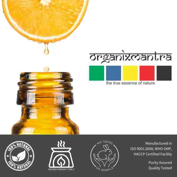 Anxiety Stress Relief Sweet Orange Essential Oil