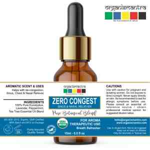 essential oil nasal sinus congestion breath refresher