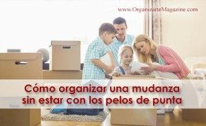 Mudanzas: como organizarla