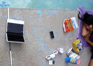 Cómo organizar tus vacaciones trabajando desde casa.