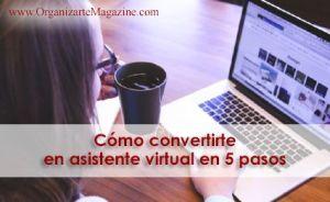 como convertirte en asistente virtual
