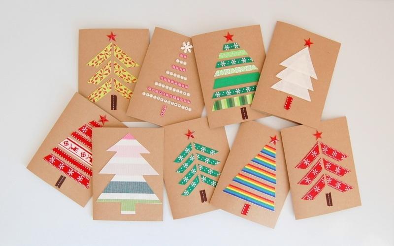 Ideas prácticas y sencillas para enviar tarjetas navideñas
