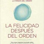 Libros Marie Kondo: La felicidad después del orden