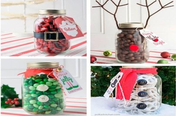regalos para hacer en casa practico envase compota grande caramelos