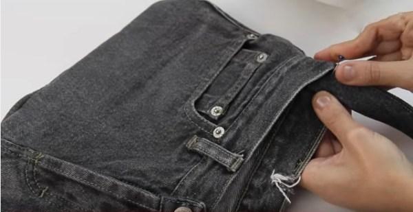 regalos que puedes hacer en casa bolso jean recicla utiliza viejo