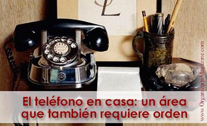 Teléfono de línea en el hogar: como organizar el lugar