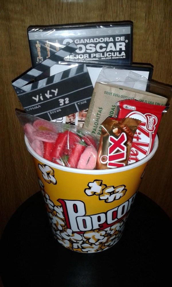 presente regalo ideas para regalos caja de cine