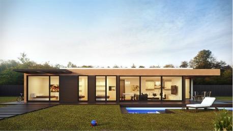 Construcción modular de casas