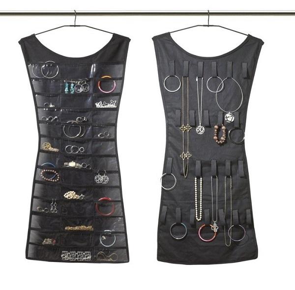 Organizando mi bisutería guardaropa perchas vestidos bisutería organizar ropa hogar closet