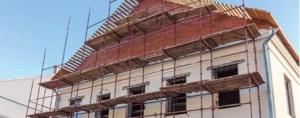 reconstrucción de fachadas