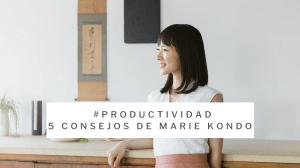productividad marie kondo