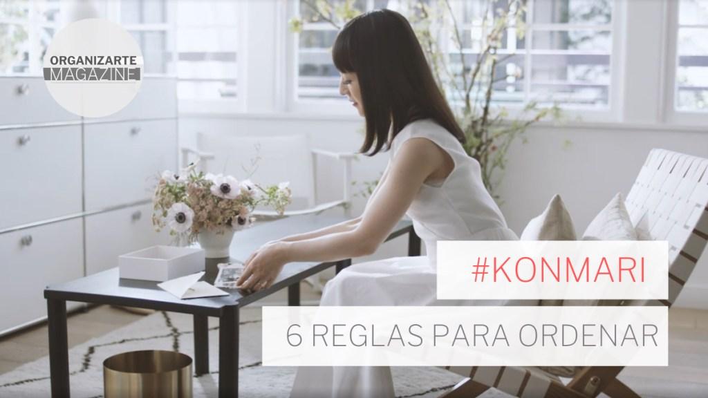 Marie Kondo 6 reglas para ordenar - Orden Kon Mari