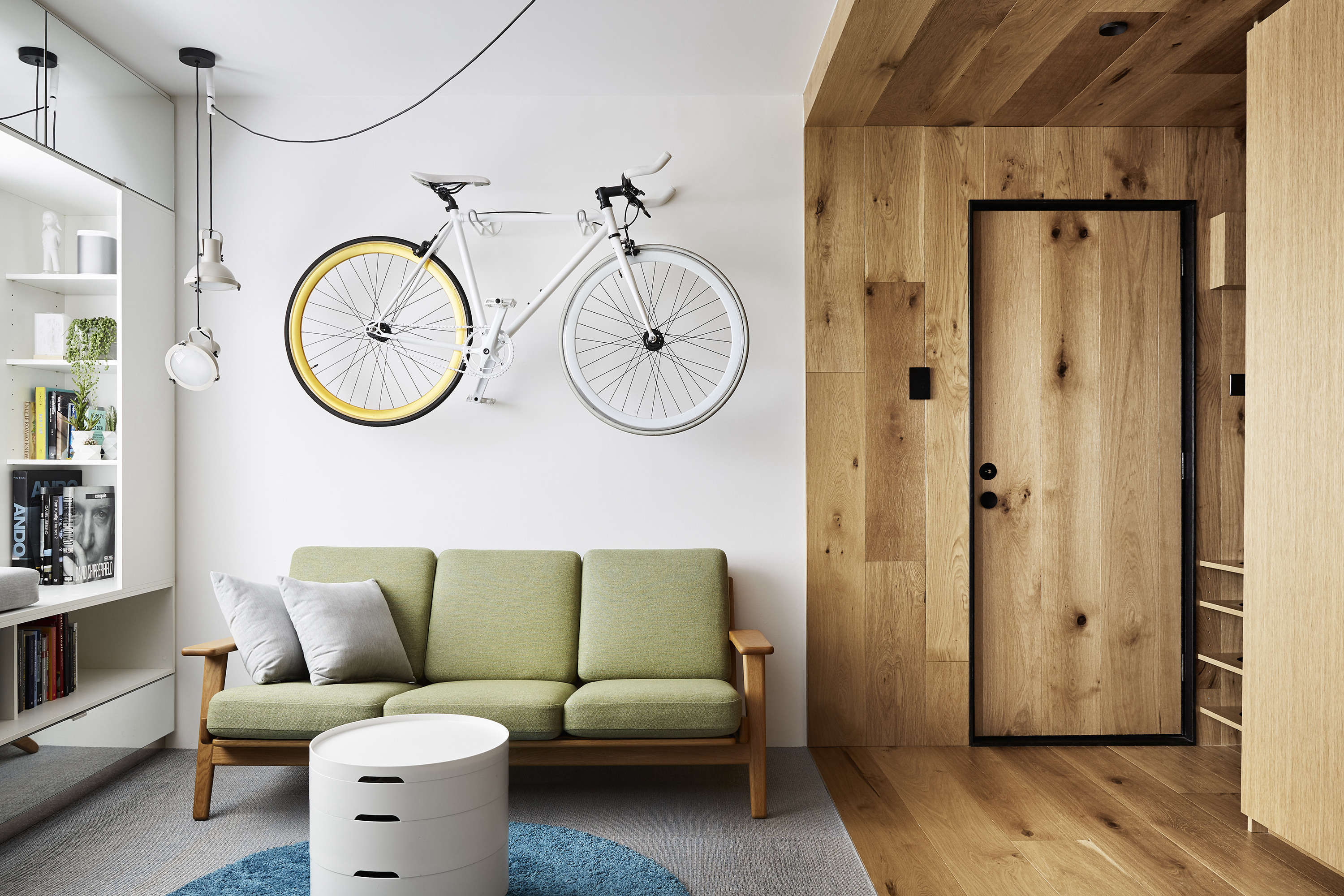 bike rack for small apartment