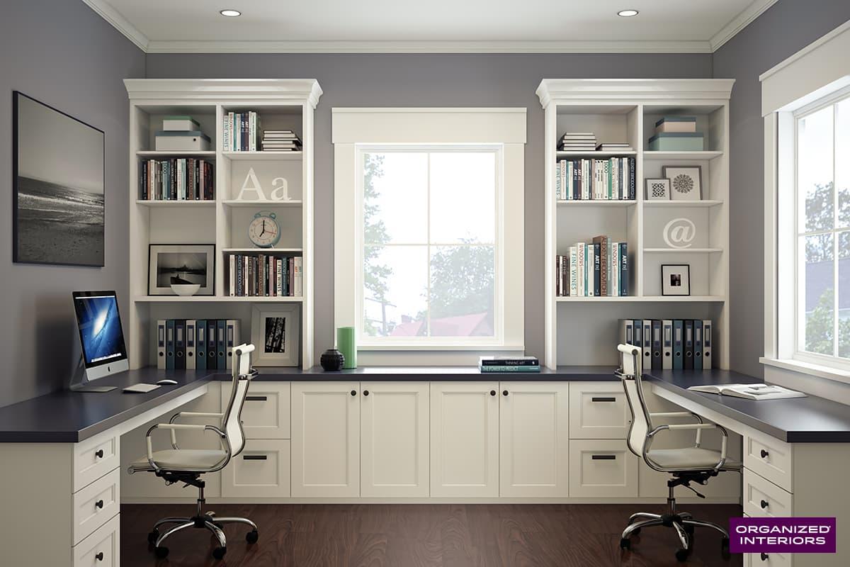 Custom Home Office Ideas Organized Interiors