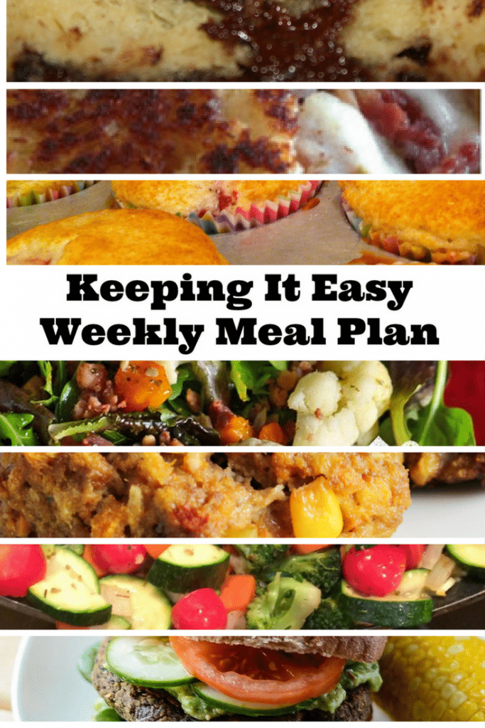 Spring weekly meal plan 13