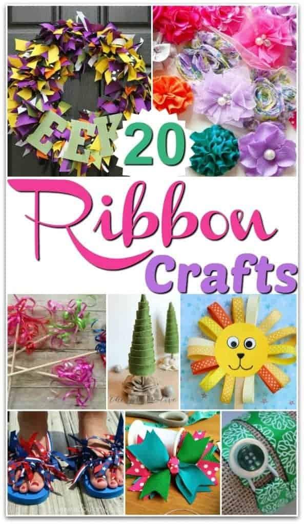 Easy Ribbon Craft Ideas To Make
