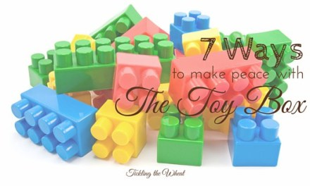 7 Ways to Make Peace With the Toy Box