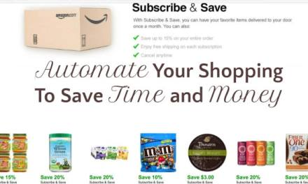 Automate Your Shopping to Save Time and Money