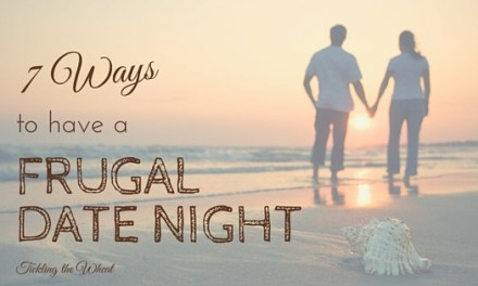 7 Ways to Have a Frugal Date Night