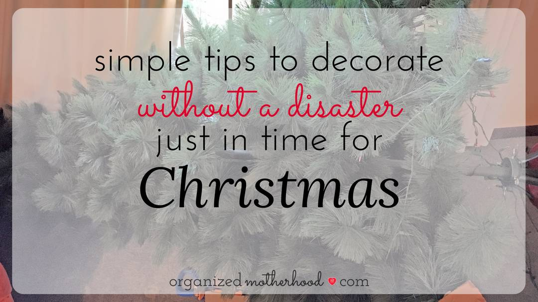 How to Decorate Without a Disaster