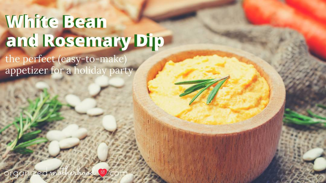 How to Make a White Bean and Rosemary Dip that Your Guests Will Love