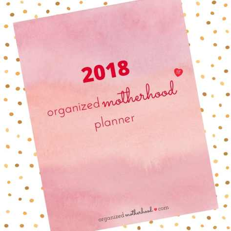 The Organized Motherhood Planner will help you conquer your to-do list and plan your day so you can finally enjoy motherhood.
