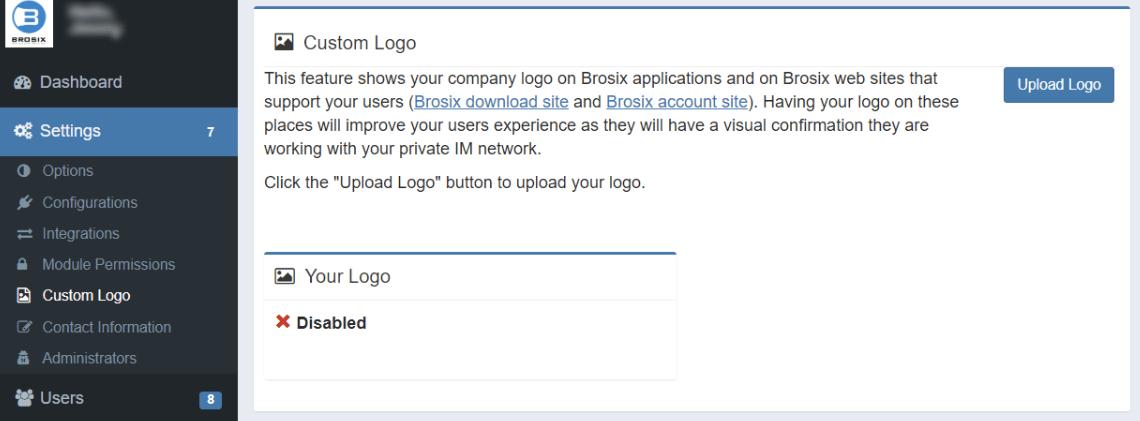 Brosix settings