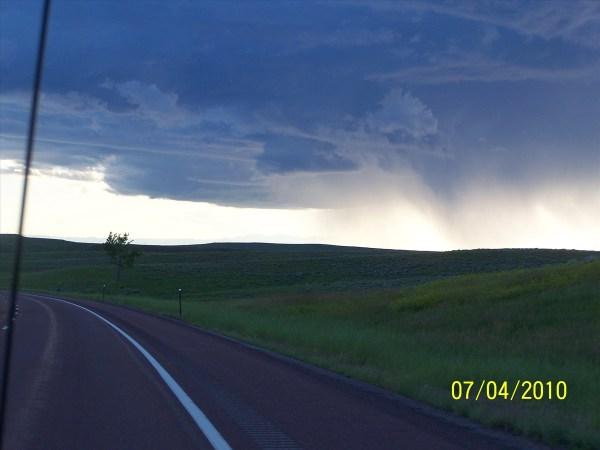 Storm in South Dakota