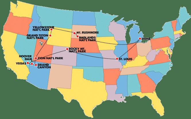 RV Road Trip Across the US