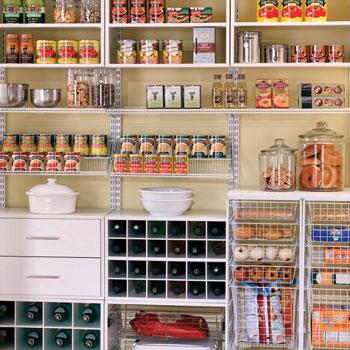 pantry organizing small photo