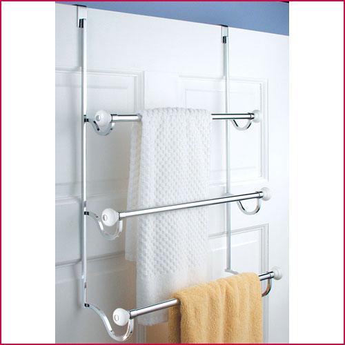 over-door towel rack