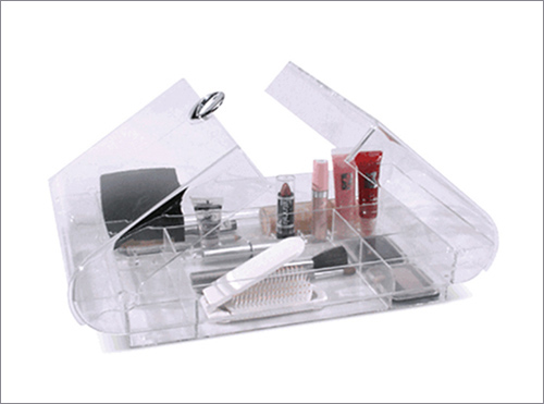compact acrylic organizer