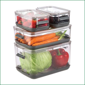 Progressive produce container