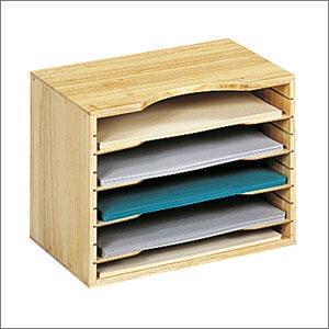 wooden file organizer