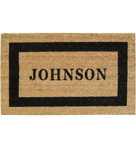 personalized-coir-doormat