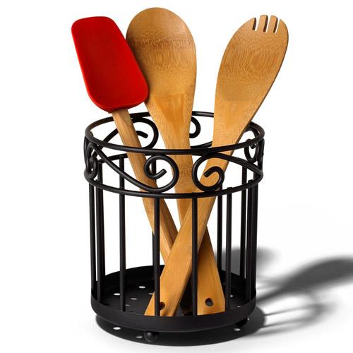Image Result For Black Kitchen Utensil Holder