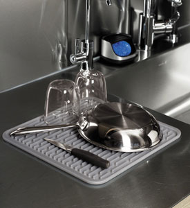 oxo good grips silicone drying mat in