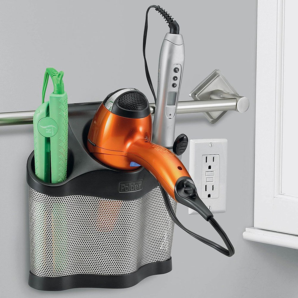 Hair Care Caddy in Hair Dryer Holders on Iron Stand Ideas  id=36961
