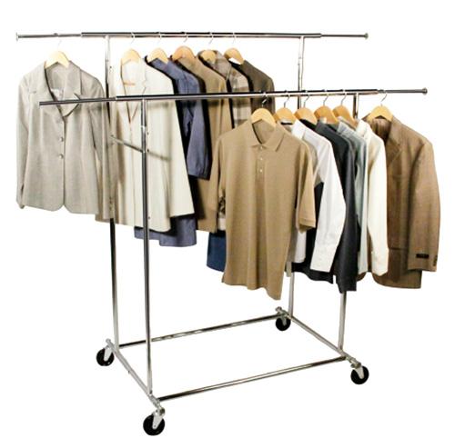 double bar commercial chrome garment