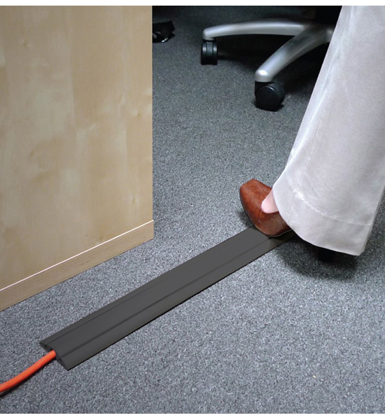 floor cord cover how to improve your office organize it 29263
