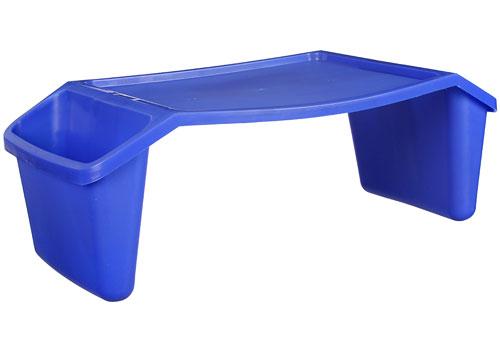childrens lap desk royal blue image