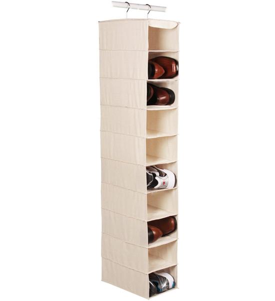 Shoe Closet Organizer Dimensions